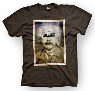 enough shirts, Einsteins-Third, T-Shirt, cooles Design