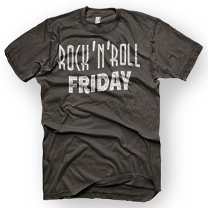 enough shirts, rocknroll friday punkrock t-shirt