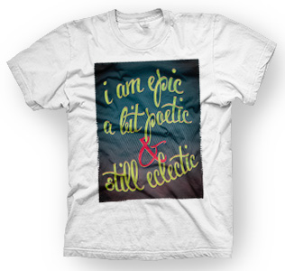 enough shirts, I-Am-Epic, T-Shirt, cooles Design