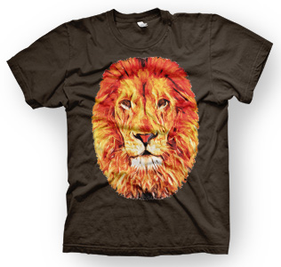 enough shirts,Leo-V1, T-Shirt, cooles Design