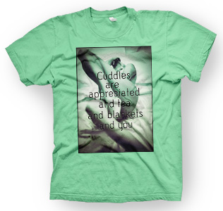 enough shirts,Serious-Stuff, T-Shirt, cooles Design